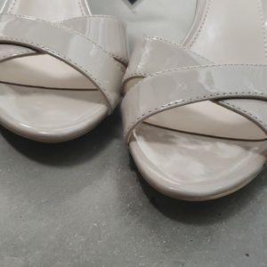 Calvin Klein sling back heels